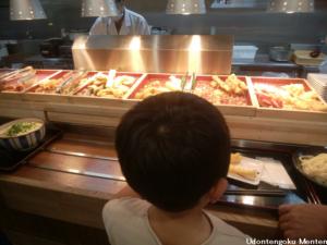 麺天のセルフサービス