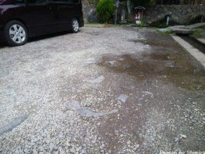弁天の清水駐車場