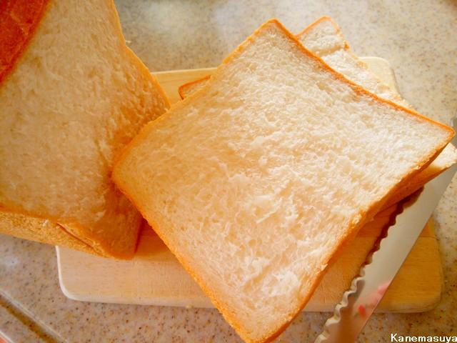 金桝屋製パンの高級食パン