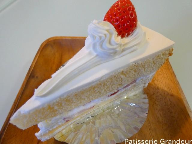 グランドールの苺ショートケーキ