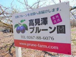 高見澤プルーン園