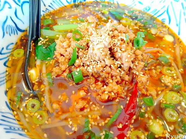 龍苑四川麺